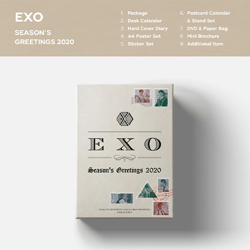EXO-[SEASON'S GREETINGS 2020]