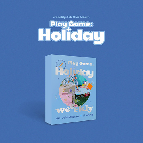 위클리(Weekly) - 미니 4집 [Play Game:Holiday] E world ver.