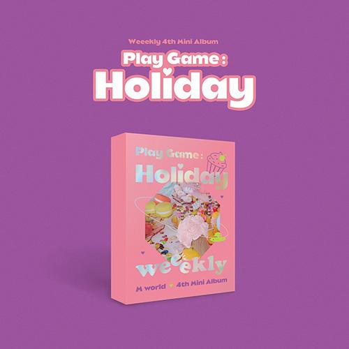 위클리(Weekly) - 미니 4집 [Play Game:Holiday] M world ver.