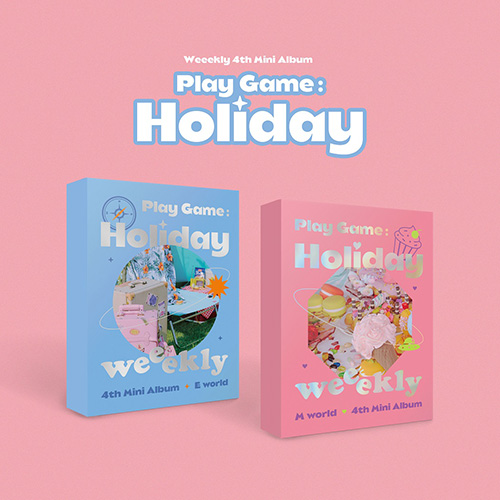 위클리(Weekly) - 미니 4집 [Play Game:Holiday] Set ver.